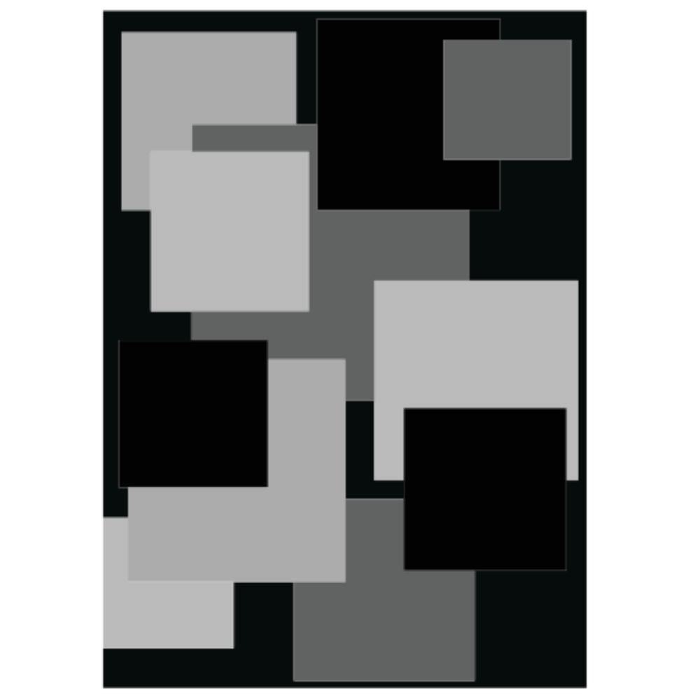 Tapete Minimalista com Formatos e Estampas Artesanal