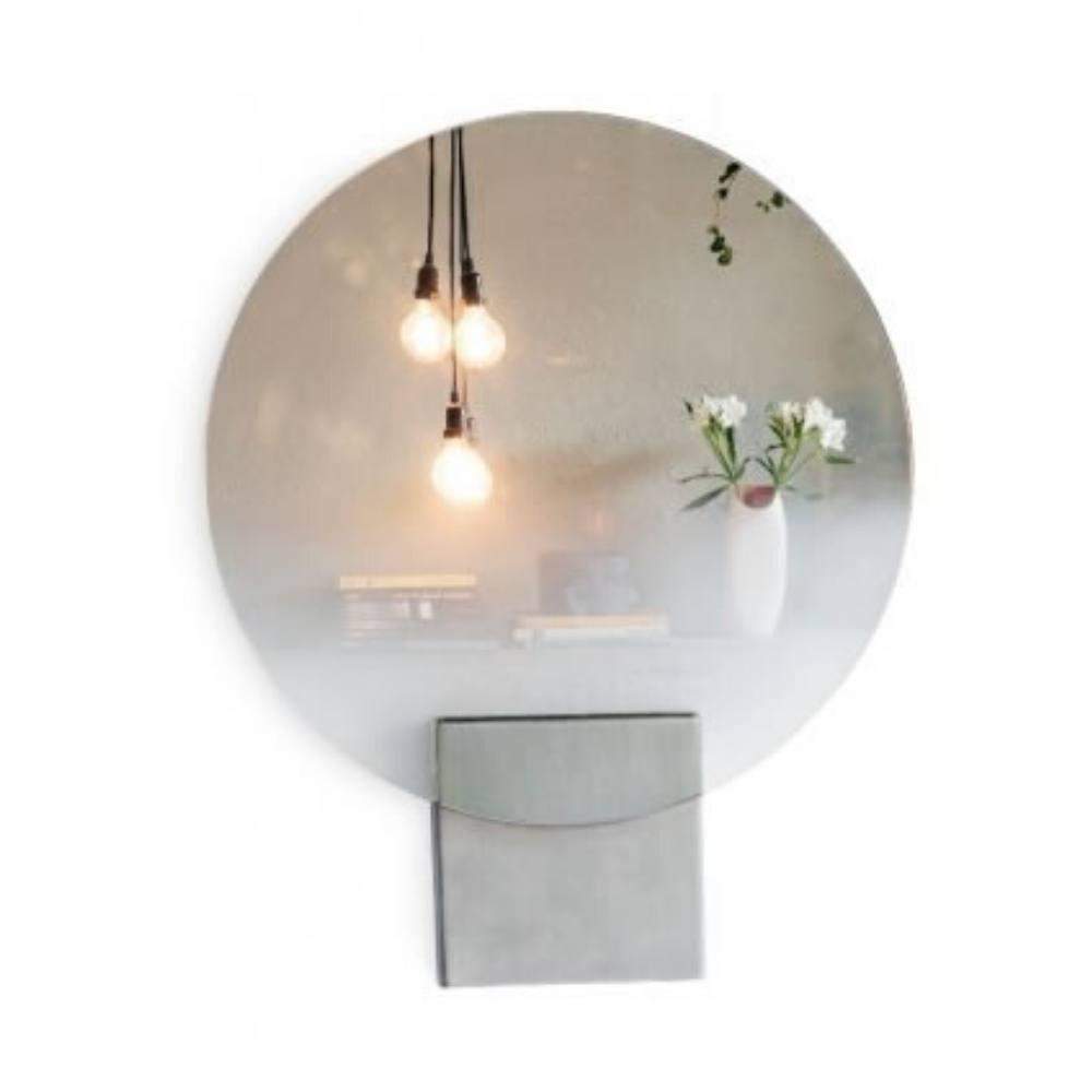 Espelho Circular Degradê Rodrigo Ohtake