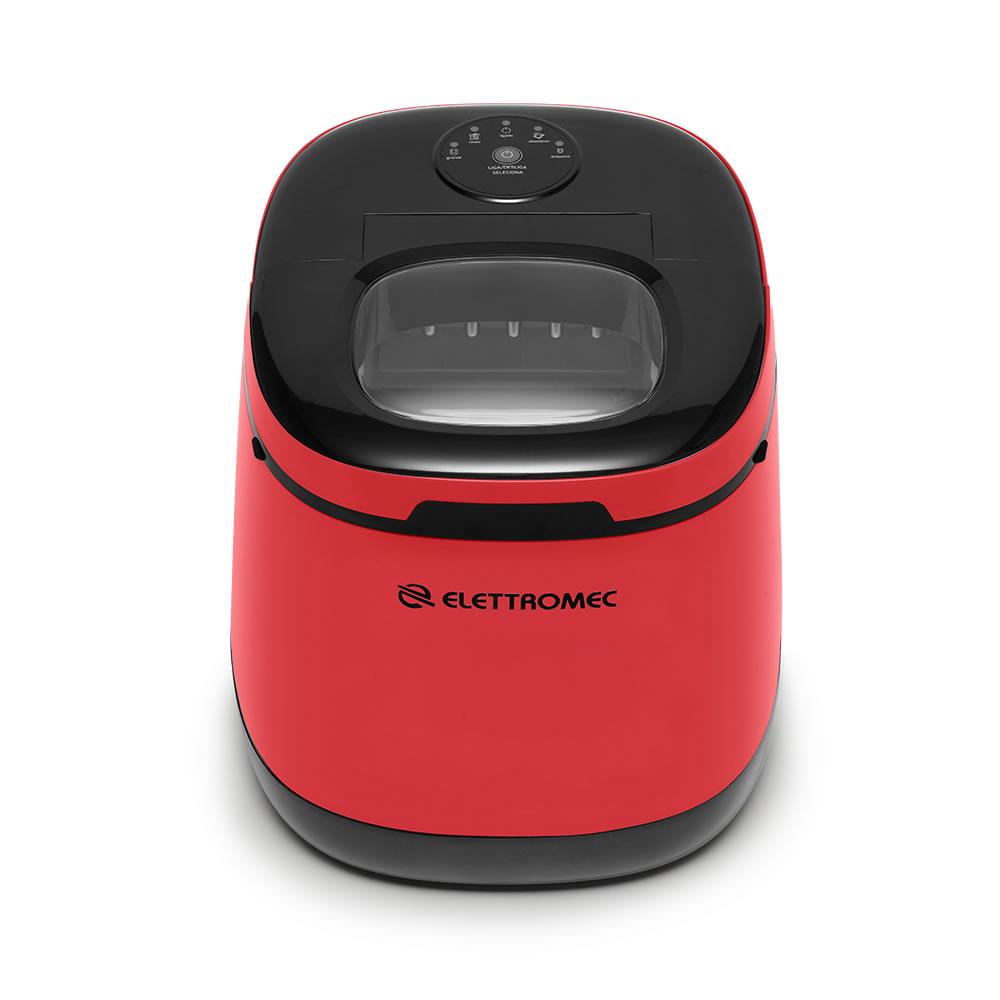 Ice Maker Portátil Vermelho 220V Elettromec