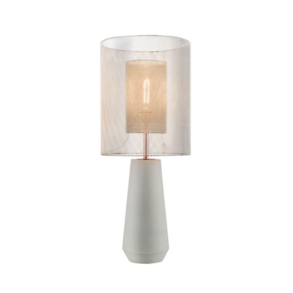 Luminária de Mesa Abajur 1864 John Astor Klaxon Industrial