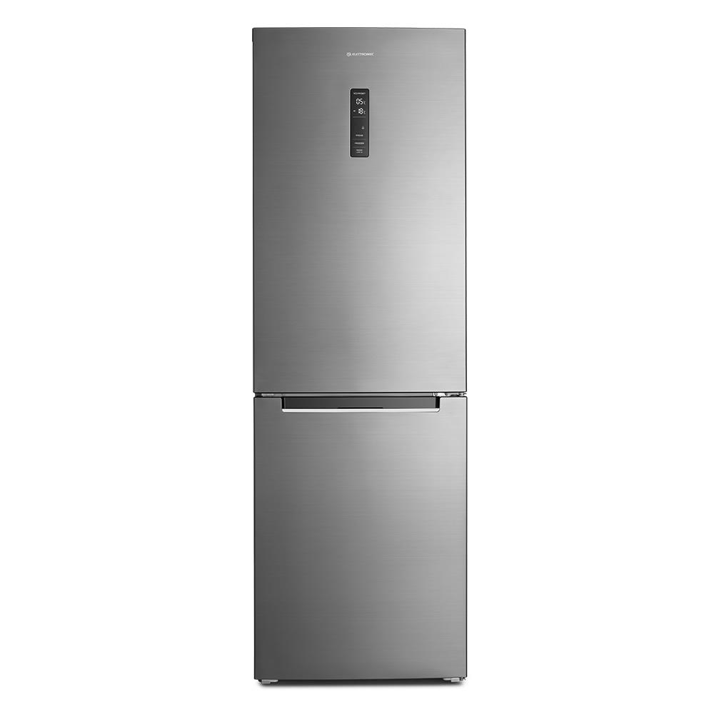 Refrigerador Bottom Freezer 317l 220V Elettromec Titanium
