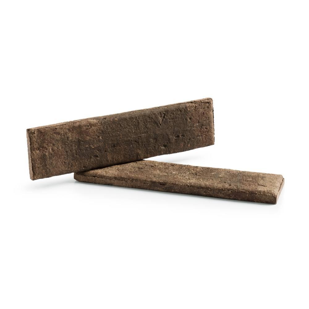 Revestimento Cerâmico Tijolinho Brick Rústica Manchester 24,8x6,2cm