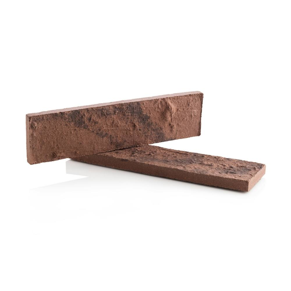 Revestimento Cerâmico Tijolinho Clássica Nut Brown 24,8x6,2cm