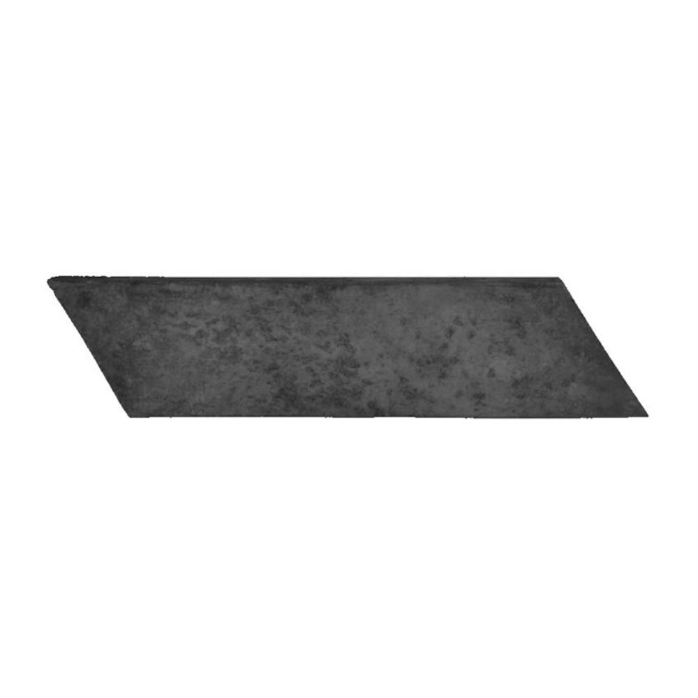 Revestimento Cimentício Gauss Rustic Cut Left Black