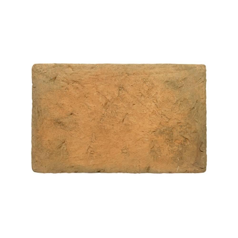 Revestimento Cimentício Gauss Grand Rustic Terracota Carvão 27,5x17,5cm