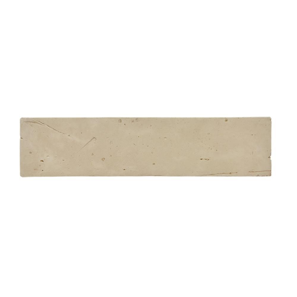 Revestimento Cimentício Gauss Rustic Fit Areia 26x6