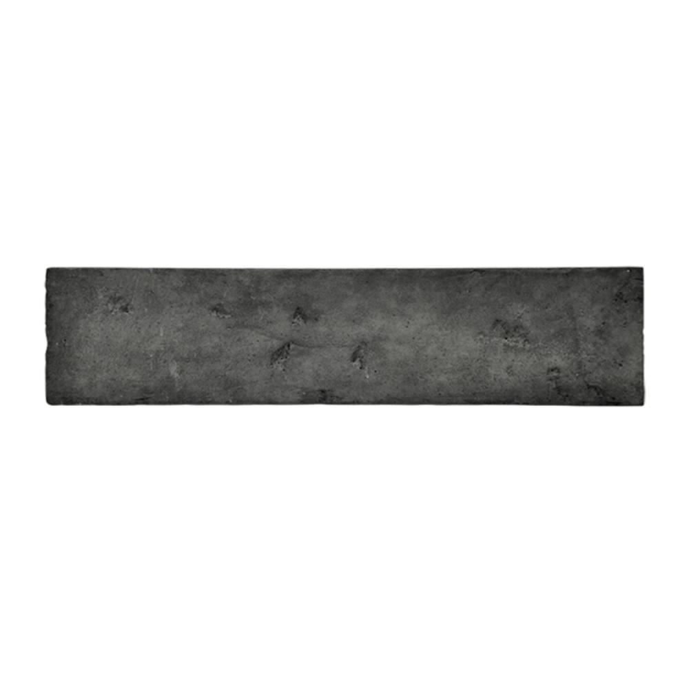 Revestimento Cimentício Gauss Rustic Fit Carvão 26x6