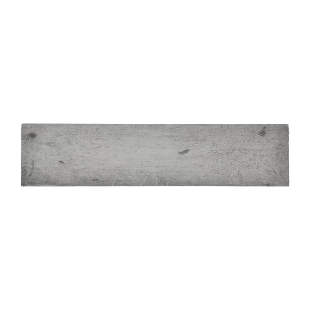 Revestimento Cimentício Gauss Rustic Fit Grafito 26x6