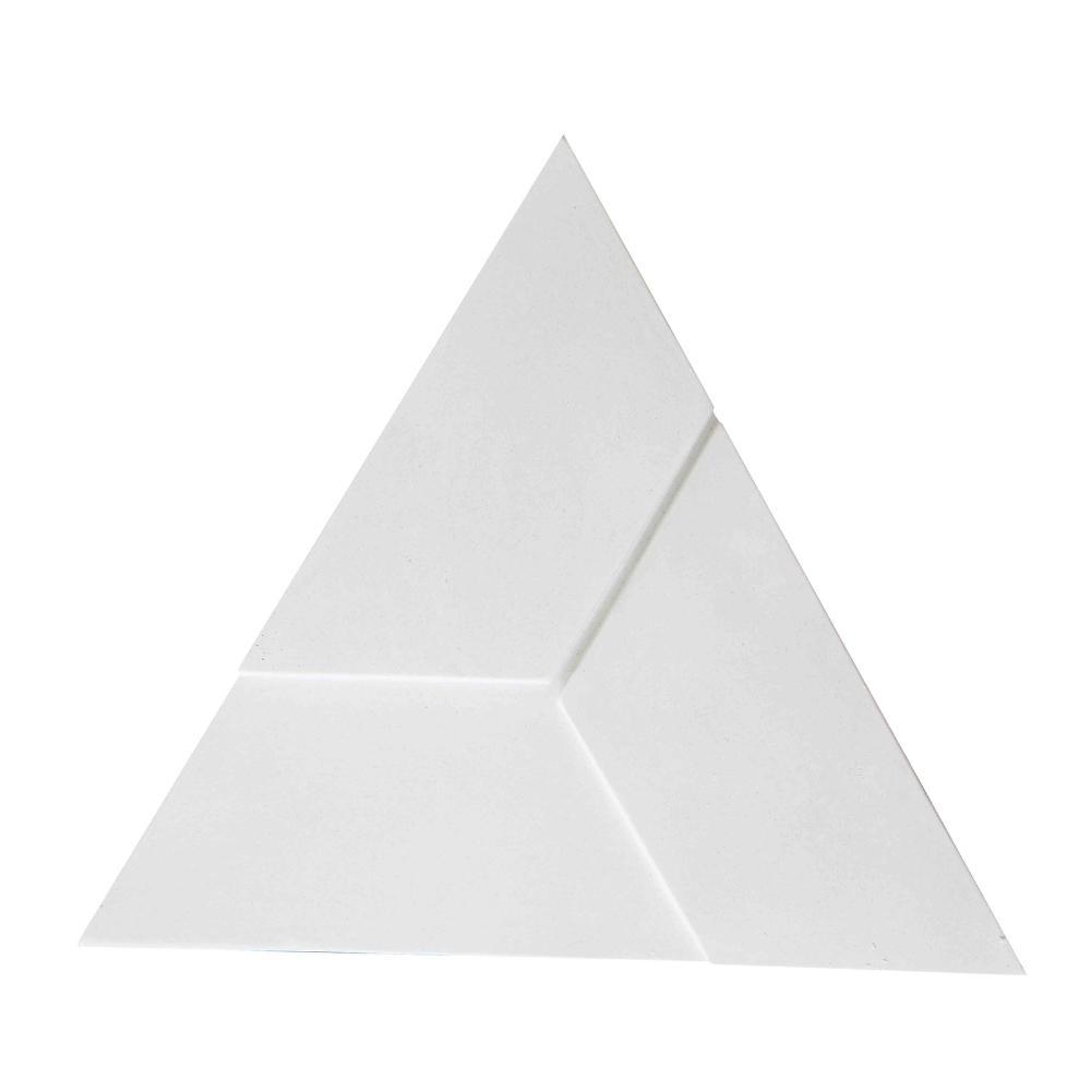 Revestimento Cimentício de Parede Triangular Strutturare