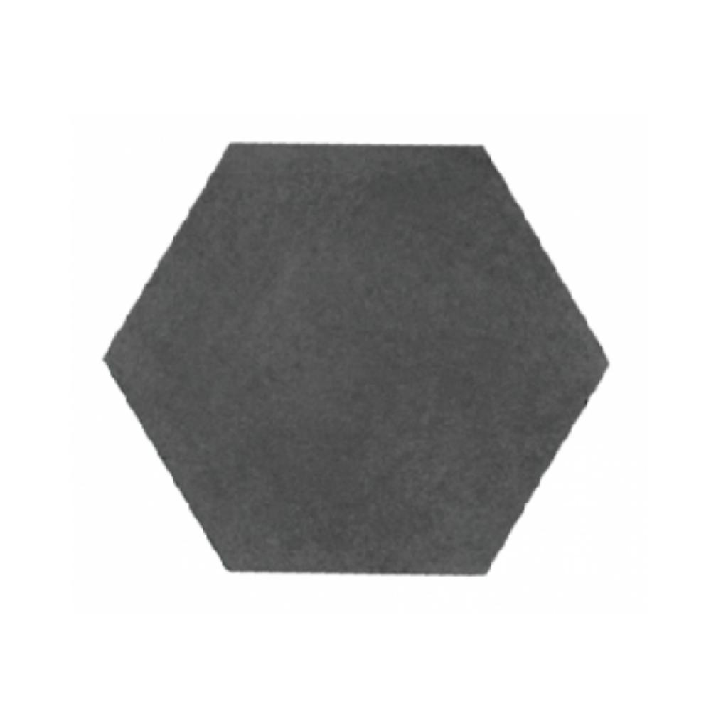 Revestimento Cimenticio Hexagonal Gauss Gradient Black