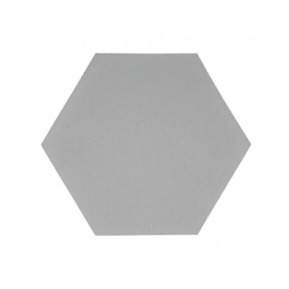 Revestimento Cimenticio Hexagonal Gauss Gradient Grafito
