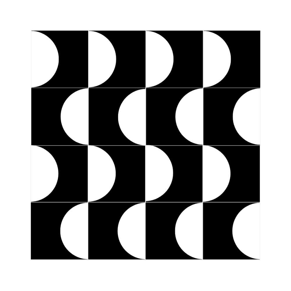 Azulejos Geométricos Decorativos Onda Vetro Designer