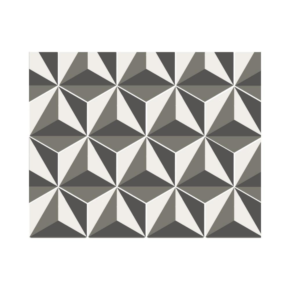 Ladrilho Hidráulico Hexagonal Design Cate Poli Ladrilar