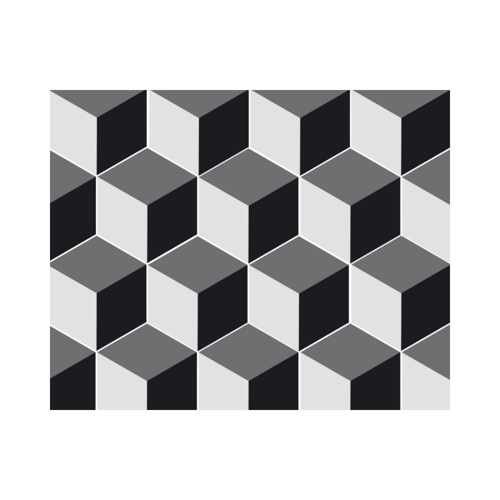 Revestimento Ladrilho Hidráulico Hexagonal Gobeto Ladrilar