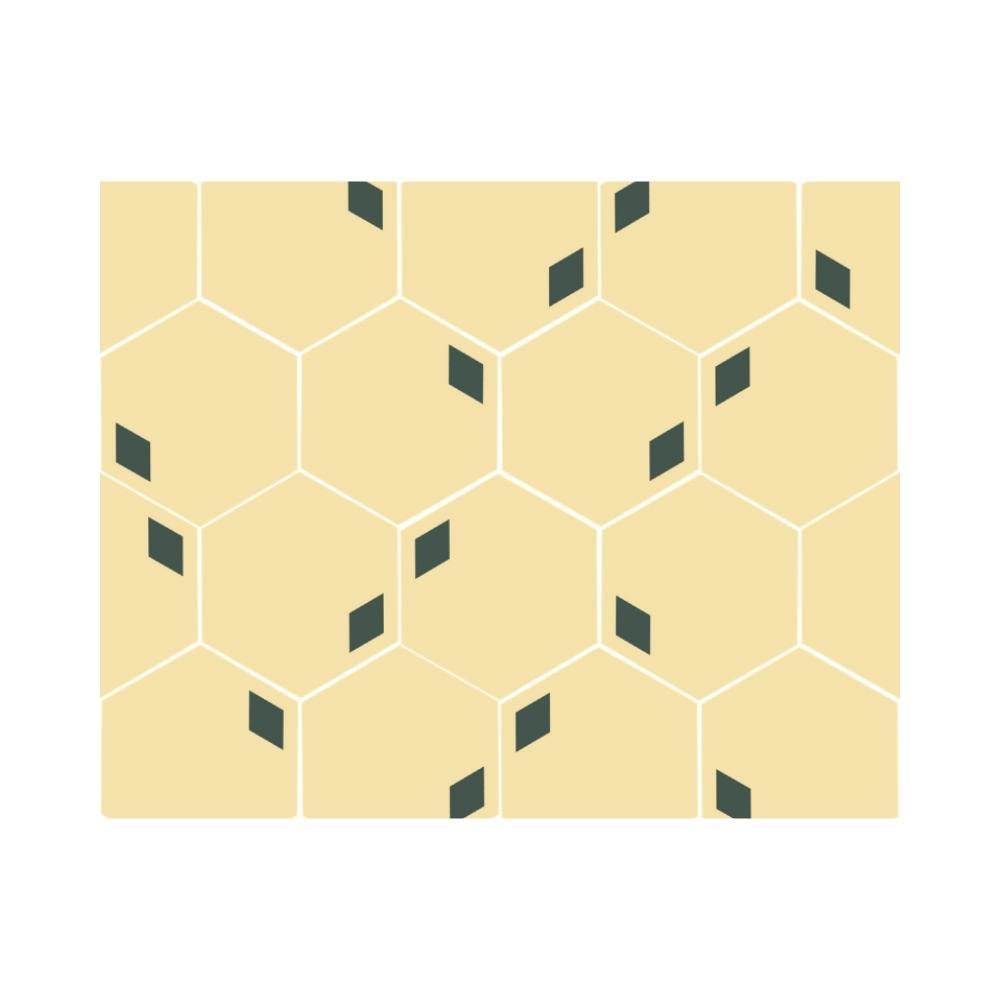 Ladrilho Hidráulico Hexagonal Paralelo Ladrilar em Concreto