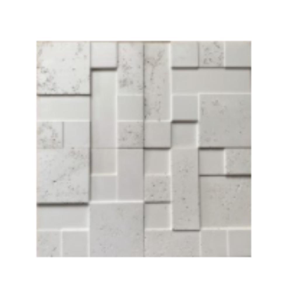 Revestimento Cimento Relevo Parede Mosaico Eroso Strutturare