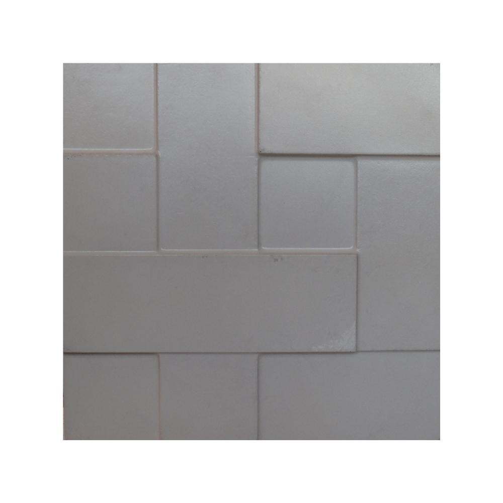 Revestimento Cimento Relevo Parede Mosaico Liso Strutturare