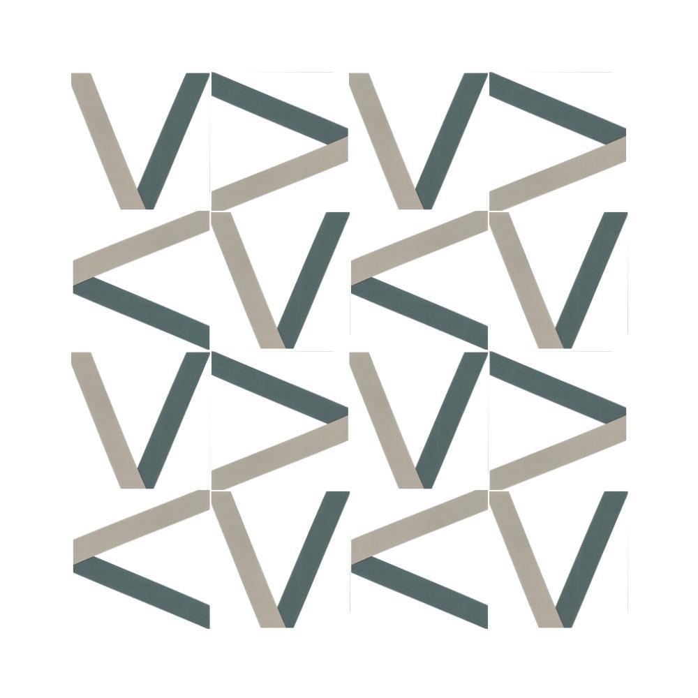Revestimento Azulejo Decorado Ribbon V Márcio Pontes Vizta