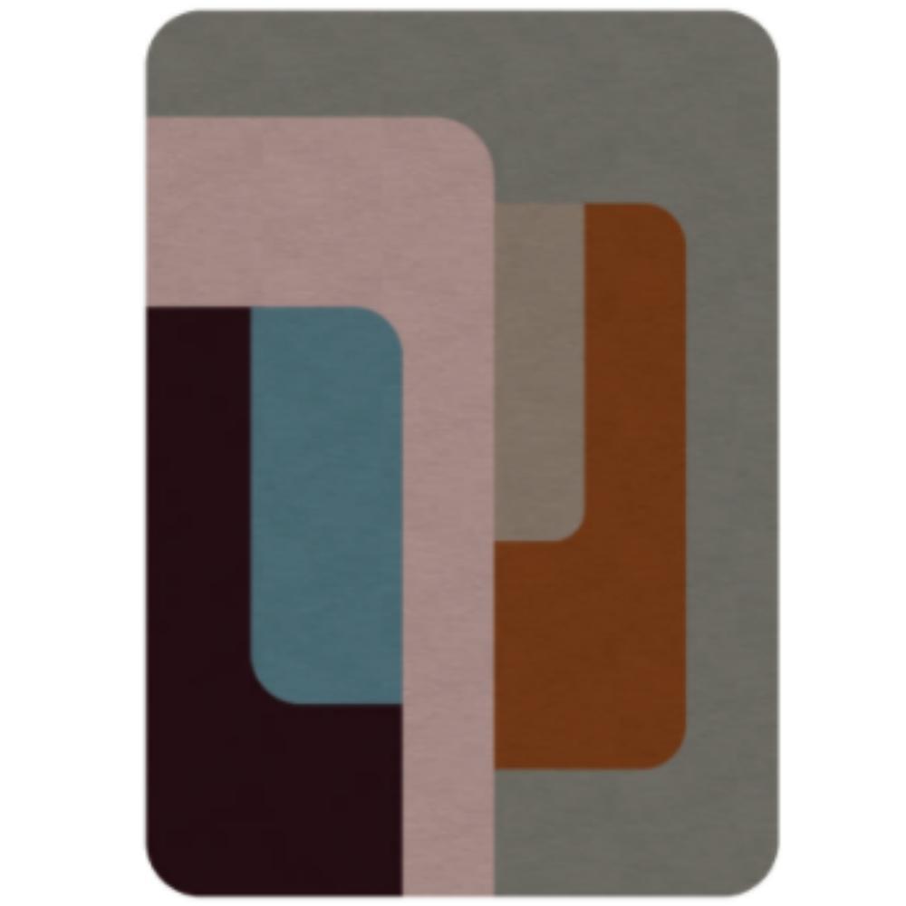 Tapete 60S Design Assinado Marion Kopel para Decoralle