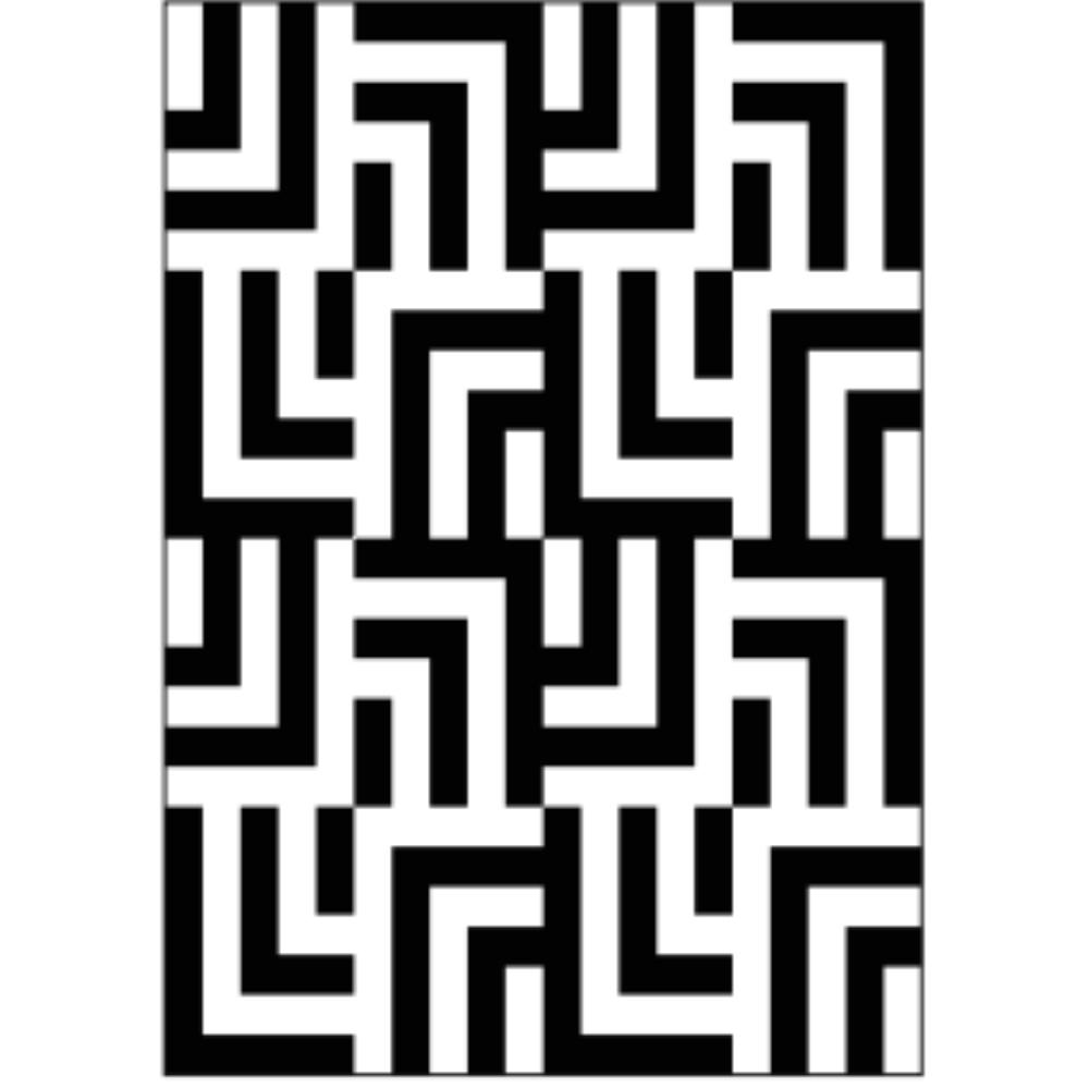 Tapeçaria Artesanal Design Assinado Estampa Geométrica