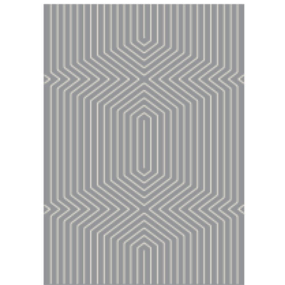 Tapete Artesanalmente Fabricado com Estampa Geométrica  | Decoralle