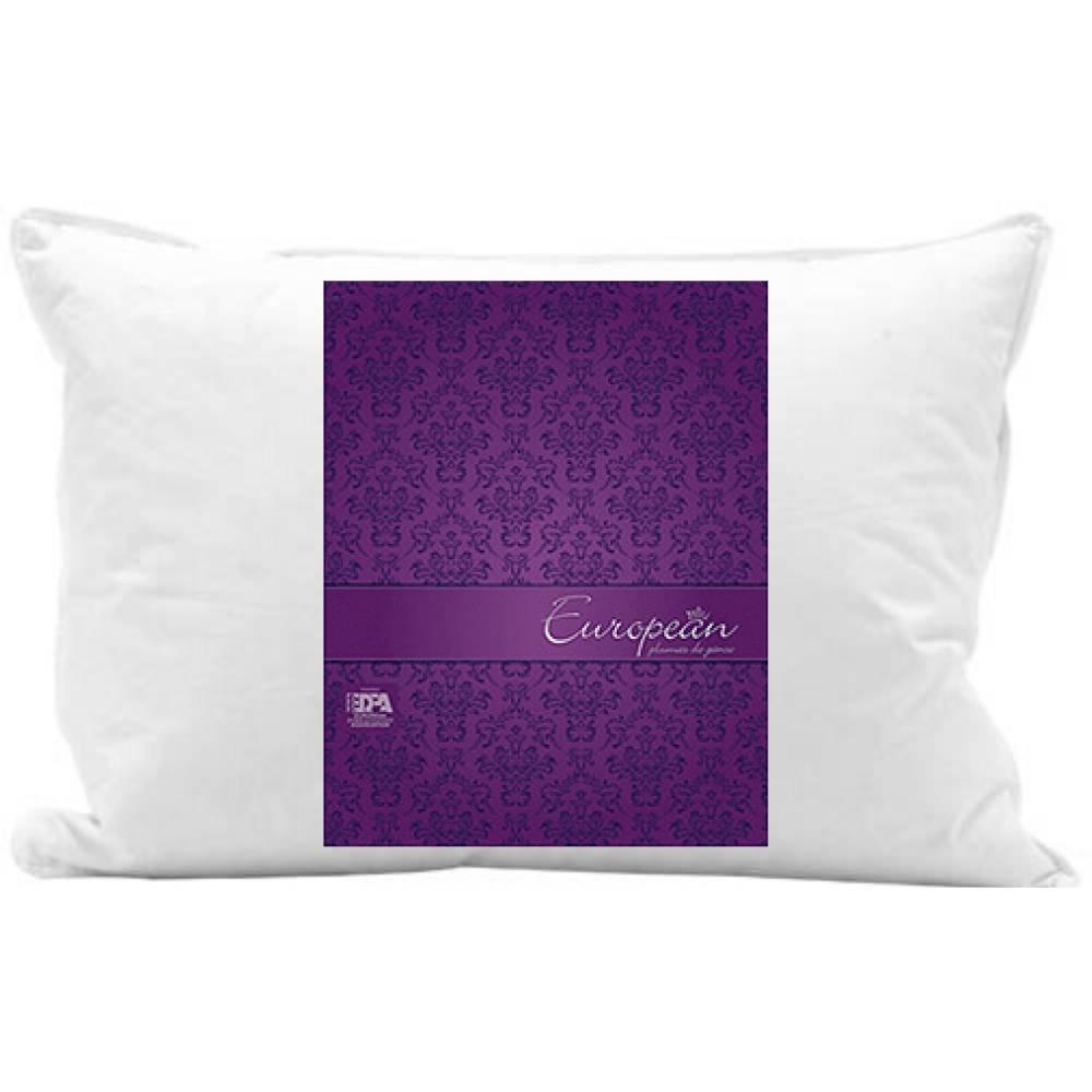 Travesseiro European 100% Plumas de Ganso Plooma 50x70 | 50x90