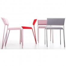 Conjunto com 4 Cadeiras Velvet tecido Designer Tiago Curioni