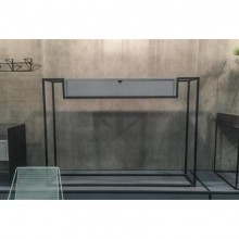 Aparador Tiê Molio Design Assinado Aço Pintura Eletrostática