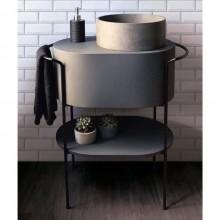 Bancada Para Banheiro Lavabo Base Pia Molio Design Assinado