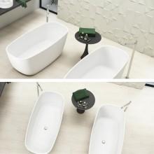 Banheira de Imersão Bahia Sabbia Toque Acetinado Minimalista