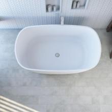 Banheira de Imersão Compacta Olinda Sabbia Minimalista