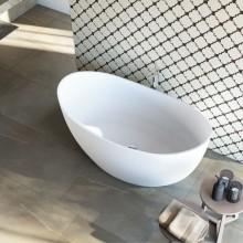 Banheira de Imersão Sampa Sabbia Toque Acetinado Minimalista