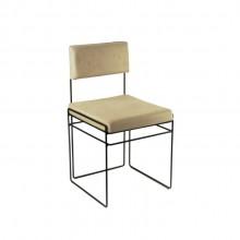 Cadeira Célia Design Assinado Danilo Vale em Couro ou Tecido