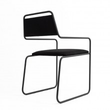 Cadeira Line Fyp Design Eduardo Vale com Estrutura Metálica
