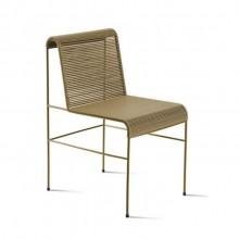 Cadeira Uirapuru em aço carbono maciço e fios de PVCMolio Design