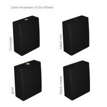 Caixa Acoplada para Bacia Cerâmica Acionamento Duo Link Deca