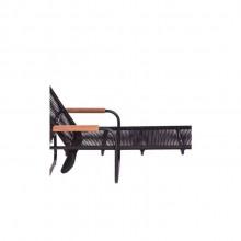 Chaise Elo por Filipe Ramos Design com braço em Cumarú e corda de nylon náutico