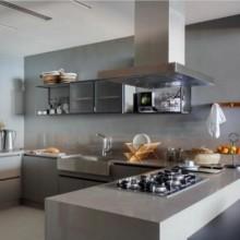 Coifa Adria Ilha Elettromec 90cm 220V Titanium Gourmet