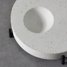 Centro de Mesa Prosa Design Estúdio Iludi Concreto Branco