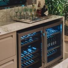 Conjunto Promocional Gourmet Elettromec Adega e Beer Center
