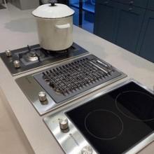 Cooktop Dominó Quadratto Vitrocerâmico 30cm Inox 2 queimadores 220V Elettromec