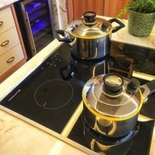 Cooktop Indução 4 bocas 60cm 220V Elettromec Gourmet Cozinha