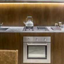 Forno Luce Gás 60cm 220V Elettromec Titanium Gourmet Cozinha