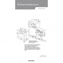 Forno Luce a Gás Inox 90cm 220v Elettromec