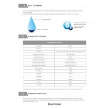 Lava-Louça 14 Serviços para Armário Planejado 220V Elettromec