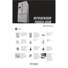Refrigerador French Door 531 litros 220V Elettromec Titanium