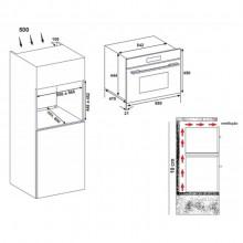 Micro-ondas Forno e Grill Elétrico 38 Litros Cuisinart