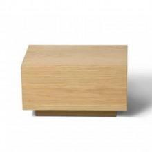 Mesa de Cabeceira Madeira Lund design minimalista assinado