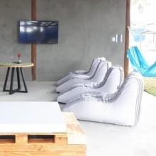 Puff Puffe Avatar Handmade Outdoor Indoor Sofá Leve Área Externa