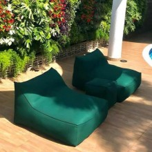 Puff Verona Handmade Outdoor Indoor Sofá para Duas Pessoas